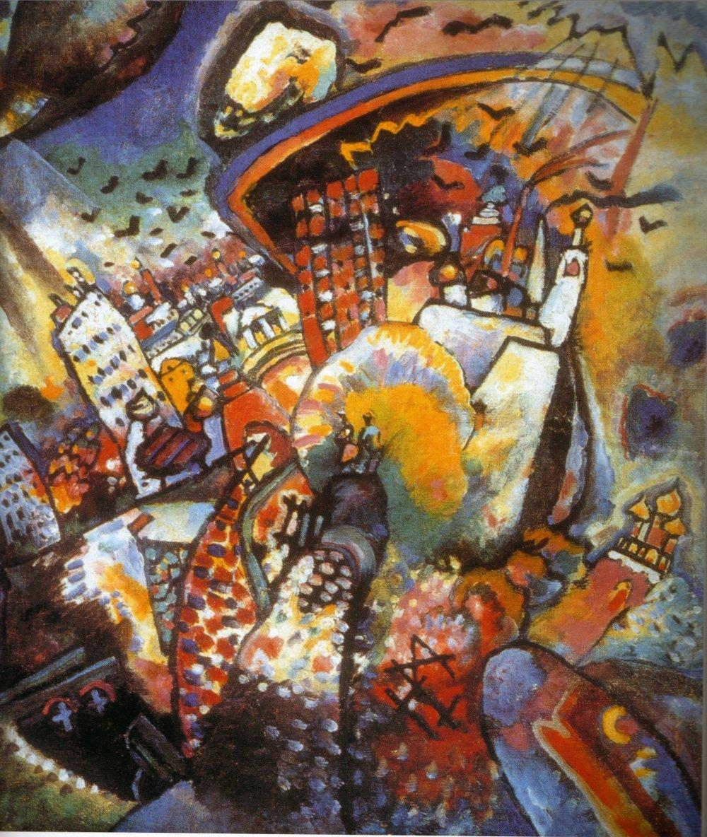 Vasilij Kandinskij, Mosca I (1916)
