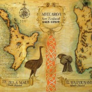 Mappa della Nuova Zelanda