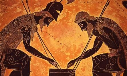 Achille e Aiace giocano a dadi