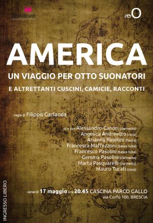 America - LOCANDINA PARCO GALLO